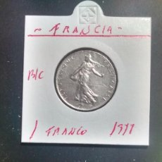 Monedas antiguas de Europa: FRANCIA 1 FRANCO 1977 BC KM 925.1. Lote 96326239