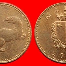 Monedas antiguas de Europa: 1 CENTIMO CENT CENTAVO 1991 MALTA 1548T COMPRAS SUPERIORES 40 EUROS ENVIO GRATIS. Lote 96476695