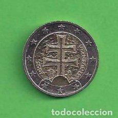 Moneda Eslovaquia 2 Euros Doble Cruz Es Vendido En Venta Directa 96801171