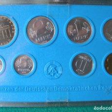 Monedas antiguas de Europa: BLISTER SET 8 MONEDAS DDR (REPÚBLICA DEMOCRÁTICA ALEMANA) - 1982 - MINT SC. Lote 96885523