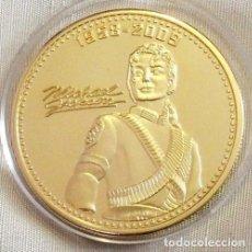 Monedas antiguas de Europa: ? MICHAEL JACKSON COIN GOLD PLATED 24K. THE KING OF POP AUTOGRAPH ?. Lote 98650671