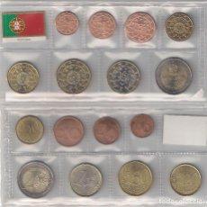 Monedas antiguas de Europa: TIRA DE MONEDAS DE EUROS DE PORTUGAL DE 2008. SIN CIRCULAR.. Lote 97311731