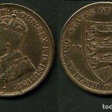 Monedas antiguas de Europa - JERSEY 1/12 SHILLING AÑO 1923 ( JOEGE V REY DE GRAN BRETAÑA Y DE SUS DOMINIOS DE 1910 A 1936 ) Nº1 - 97539923