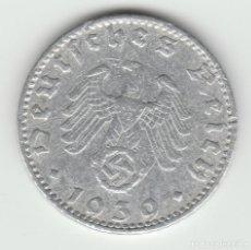 Monedas antiguas de Europa: ALEMANIA-50 REICHSPFENNIG-1939-J-ALEMANIA NAZI. Lote 97695647