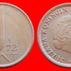 Monedas antiguas de Europa: 1 CENTIMO CENT CENTAVO 1972 HOLANDA 3001T COMPRAS SUPERIORES 40 EUROS ENVIO GRATIS. Lote 98011091