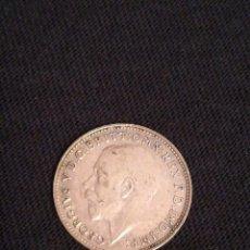 Monedas antiguas de Europa: MONEDA DE 3 PENIQUES DE PLATA GEORGIVS V 3D. Lote 98725379