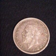 Monedas antiguas de Europa: MONEDA DE 3 PENIQUES DE PLATA GEORGIVS V 3D. Lote 98725443