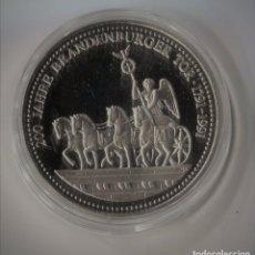 Monedas antiguas de Europa: MONEDA O MEDALLA DE LOS 200 AÑOS SPANSKA PUERTA 1791 - 1991 TRIUNFO ZERTIFKAT. Lote 99098891