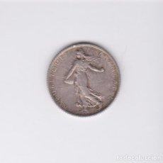 Monedas antiguas de Europa: MONEDAS EXTRANJERAS - FRANCIA - 1 FRANC 1899 - AG - KM-844.1. Lote 99200467