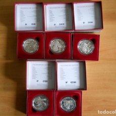 Monedas antiguas de Europa: AUSTRIA. SERIE COMPLETA - VIDA PEHISTÓRICA. PLATA PROOF. Lote 99269719