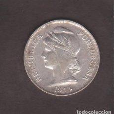 Monedas antiguas de Europa: MONEDAS EXTRANJERAS - PORTUGAL - 50 CENTAVOS 1914 - AG - FS-106. Lote 99824231