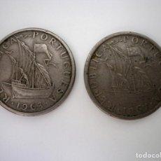 Monedas antiguas de Europa: LOTE ESCUDOS PORTUGUESES.. Lote 100461219