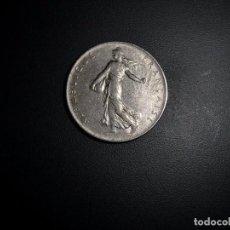 Monedas antiguas de Europa: MONEDA DE 1 FRANC CON LA IMAGEN DE LA SEMBRADORA AÑO 1966.. Lote 101025995