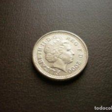 Monedas antiguas de Europa: GRAN BRETAÑA 5 PENIQUES 2000. Lote 101152719