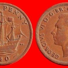 Monedas antiguas de Europa: HALF 1/2 PENNY 1940 INGLATERRA 04043T COMPRAS SUPERIORES 40 EUROS ENVIO GRATIS. Lote 101153395
