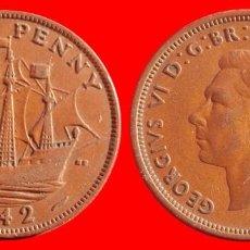 Monedas antiguas de Europa: HALF 1/2 PENNY 1942 INGLATERRA 04044T COMPRAS SUPERIORES 40 EUROS ENVIO GRATIS. Lote 101153471