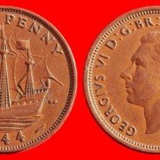 Monedas antiguas de Europa: HALF 1/2 PENNY 1944 INGLATERRA 04046T COMPRAS SUPERIORES 40 EUROS ENVIO GRATIS. Lote 101153595