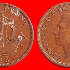 Monedas antiguas de Europa: HALF 1/2 PENNY 1946 INGLATERRA 04048T COMPRAS SUPERIORES 40 EUROS ENVIO GRATIS. Lote 101153735