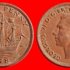 Monedas antiguas de Europa: HALF 1/2 PENNY 1948 INGLATERRA 04050T COMPRAS SUPERIORES 40 EUROS ENVIO GRATIS. Lote 101153887