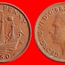 Monedas antiguas de Europa: HALF 1/2 PENNY 1950 INGLATERRA 04052T COMPRAS SUPERIORES 40 EUROS ENVIO GRATIS. Lote 101154015