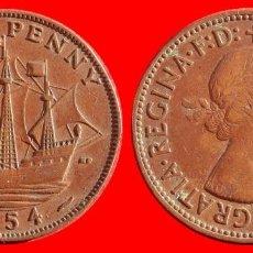 Monedas antiguas de Europa: HALF 1/2 PENNY 1954 INGLATERRA 04054T COMPRAS SUPERIORES 40 EUROS ENVIO GRATIS. Lote 101154191