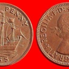 Monedas antiguas de Europa: HALF 1/2 PENNY 1955 INGLATERRA 04055T COMPRAS SUPERIORES 40 EUROS ENVIO GRATIS. Lote 101154247