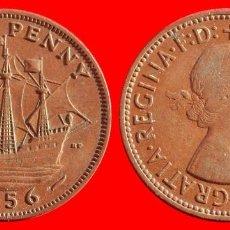 Monedas antiguas de Europa: HALF 1/2 PENNY 1956 INGLATERRA 04056T COMPRAS SUPERIORES 40 EUROS ENVIO GRATIS. Lote 101154311