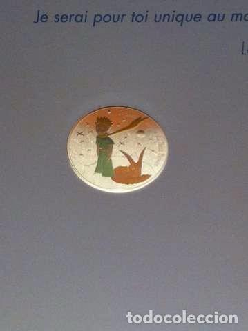 MONEDA 50E DE PLATA (EL PRINCIPITO) (Numismática - Extranjeras - Europa)