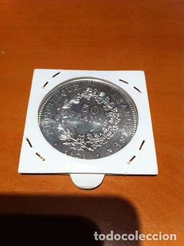 Monedas antiguas de Europa: MONEDA DE PLATA FRANCESA 50 FRANCOS - Foto 2 - 101550247