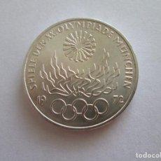 Monedas antiguas de Europa: ALEMANIA * 10 MARCOS 1972-J * PLATA. Lote 101575471