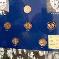 Monedas antiguas de Europa: INTERESANTE CARTERA DE 5 MONEDAS 2 EUROS 2013 TODAS LAS CECAS CONMEMORATIVAS AL TRATADO DE ELYSEE. Lote 101670771