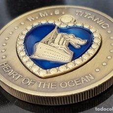 Monedas antiguas de Europa: MONEDA DE 1 OZ DE LA CONMEMORACIÓN DE LA GRAN TRAGEDIA DEL TITANIC 15 DE ABRIL DEL AÑO 1912.. Lote 101787131