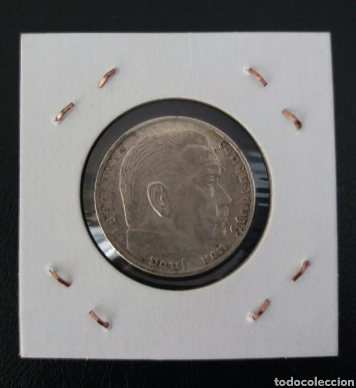 ALEMANIA 2 MARCOS 1939 CECA A (Numismática - Extranjeras - Europa)