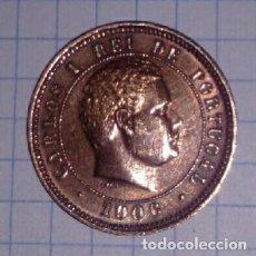Monedas antiguas de Europa: PORTUGAL. 5 REIS 1906.. Lote 103084035