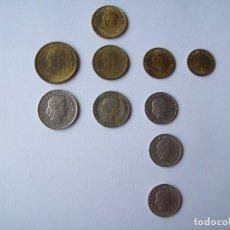 Monedas antiguas de Europa: CONJUNTO DE MONEDAS SUIZA Y PERU ANTES DEL EURO. Lote 103111283