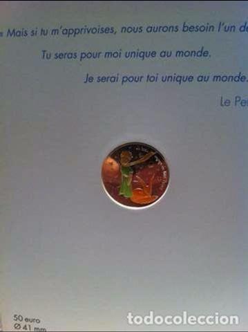 Monedas antiguas de Europa: MONEDA 50E DE PLATA (EL PRINCIPITO) - Foto 2 - 101549683