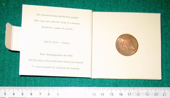 AUSTRIA. MONEDA ACUÑADA EN LA EXPO DE SEVILLA. 1992 (Numismática - Extranjeras - Europa)