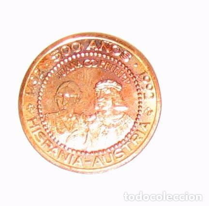 Monedas antiguas de Europa: Austria. Moneda acuñada en la Expo de Sevilla. 1992 - Foto 3 - 103302907