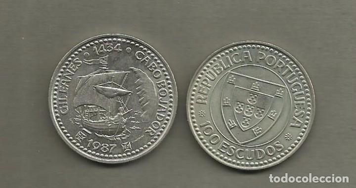 PORTUGAL :MONEDA DE 100 ESCUDOS 1987, GIL EANES (Numismática - Extranjeras - Europa)