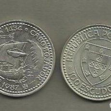 Monedas antiguas de Europa: PORTUGAL :MONEDA DE 100 ESCUDOS 1987, GIL EANES. Lote 194347167
