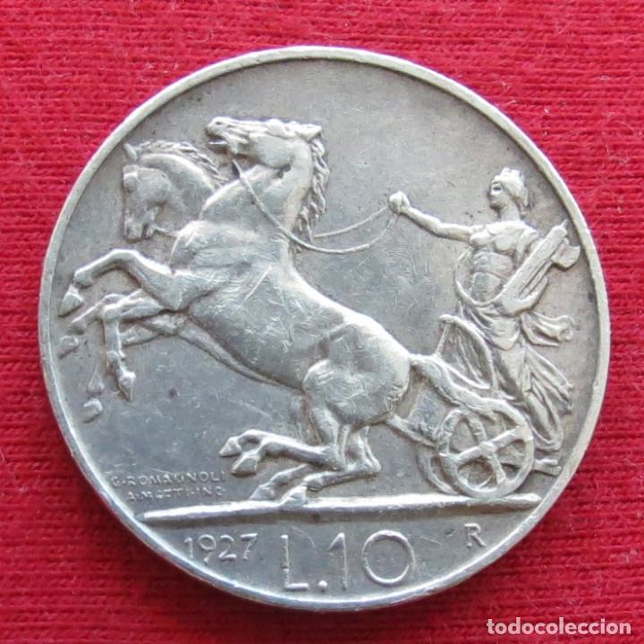 ITALIA 10 LIRA 1927 (Numismática - Extranjeras - Europa)