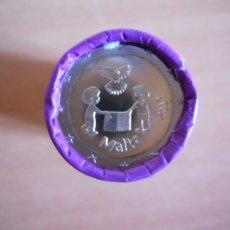 Monedas antiguas de Europa: MONEDA 2 EUROS CONMEMORATIVA MALTA 2017 - LOS NIÑOS Y LA SOLIDARIDAD - LA PAZ.. Lote 151719472