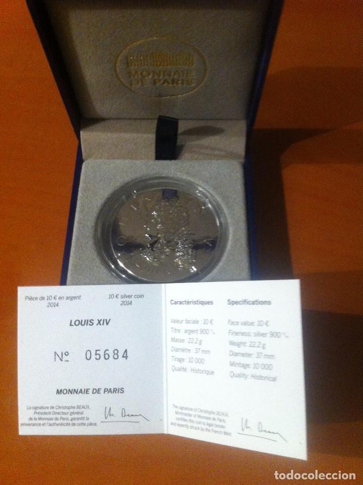 MONEDA 10E DE PLATA (Numismática - Extranjeras - Europa)