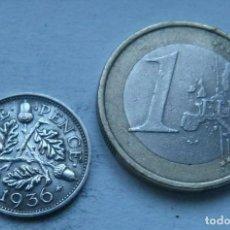 Monedas antiguas de Europa: MONEDA DE PLATA DE 3 PENIQUES DEL REY JORGE V DE GRAN BRETAÑA AÑO 1936. Lote 104319751
