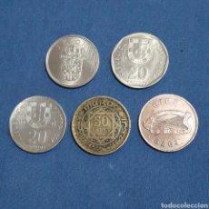 Monedas antiguas de Europa: LOTE DE 5 MONEDAS. Lote 104502374