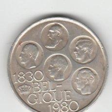 Monedas antiguas de Europa: BELGICA- 500 FRANCOS- 1980-PLATA. Lote 104693575