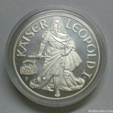 Monedas antiguas de Europa: AUSTRIA 100 SHILLING 1993 PROOF PLATA. Lote 104695900