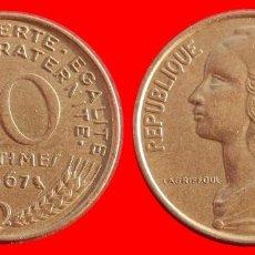 Monedas antiguas de Europa: 10 CENTIMOS 1967 FRANCIA 05734T COMPRAS SUPERIORES 40 EUROS ENVIO GRATIS. Lote 104858111