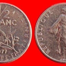 Monedas antiguas de Europa: 1/2 FRANCO 1977 FRANCIA 05936T COMPRAS SUPERIORES 40 EUROS ENVIO GRATIS. Lote 105040647