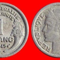 Monedas antiguas de Europa: 1 FRANCO 1945 FRANCIA 05954T COMPRAS SUPERIORES 40 EUROS ENVIO GRATIS. Lote 105112731